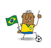 Brazilian soccer Stock Images