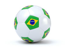 Brazilian Soccer Royalty Free Stock Images