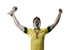 Brazilian soccer player Royalty Free Stock Image