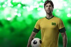 Brazilian soccer player Stock Image