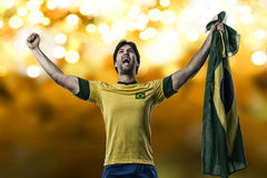 Brazilian soccer player Stock Photography