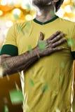 Brazilian soccer player Stock Photo