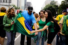 Brazilian street protests Royalty Free Stock Photography
