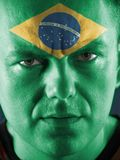 Brazilian supporter Stock Photos