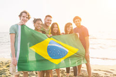 Brazilian Supporters Stock Photography