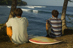 Brazilian surfers Stock Image