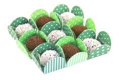 Brazilian sweets, brigadeiro Stock Images