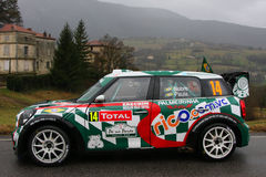 Brazilian team at Monte Carlo Rally Royalty Free Stock Photos