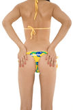 Brazilian Thong Royalty Free Stock Images