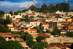 Brazilian village Royalty Free Stock Photos