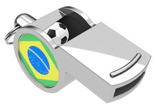 Brazilian whistle Royalty Free Stock Photography