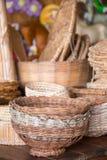 Brazilian wicker handcrafts Stock Image