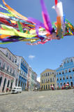 Brazilian Wish Ribbons Pelourinho Salvador Bahia Brazil Royalty Free Stock Image
