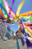 Brazilian Wish Ribbons Pelourinho Salvador Bahia Brazil Stock Photos
