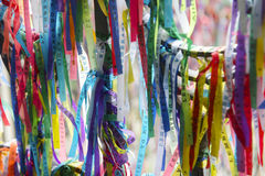 Brazilian Wish Ribbons Salvador Bahia Brazil Stock Photography