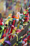 Brazilian Wish Ribbons Salvador Bahia Brazil Royalty Free Stock Images