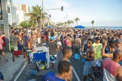 Brazilians Celebrating Carnival Ipanema Rio de Janeiro Brazil Royalty Free Stock Photography