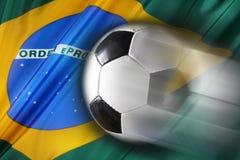 brazill足球 免版税库存照片
