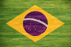 Brazillian flag Royalty Free Stock Photos
