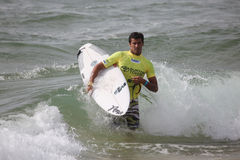 Brazillian Professional Surfer Stock Photo
