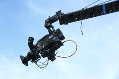Brazo de eje de balancín de la TV Fotografía de archivo libre de regalías