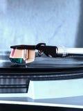 Brazo de recogida de un tocadiscos Imagen de archivo libre de regalías