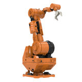 Brazo robótico imágenes de archivo libres de regalías