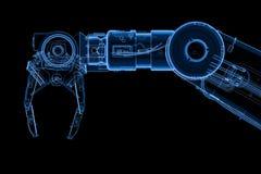 Brazo robótico de la radiografía libre illustration