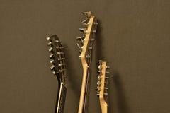 Brazos de la guitarra Foto de archivo libre de regalías