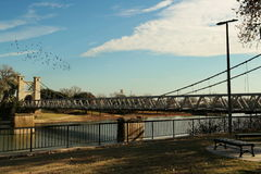 Brazos river, Waco Texas Royalty Free Stock Photography