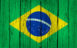 Brazylia drewna tło Zdjęcie Royalty Free