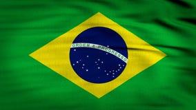 Brazylia flaga macha 4k royalty ilustracja