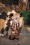 Brazylia karnawałowy żeński tancerz Fotografia Royalty Free