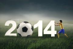 Brazylia piłki nożnej mistrzostwo 2 Fotografia Royalty Free