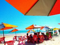 Brazylia plaża Obrazy Royalty Free