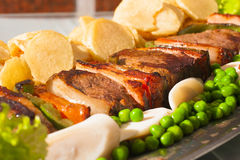 Brazylijczyka Picanha stek Zdjęcie Stock