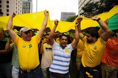 Brazylijscy ulica protesty obrazy stock