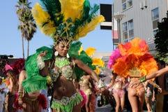 brazylijska carnaval ulica Obraz Stock