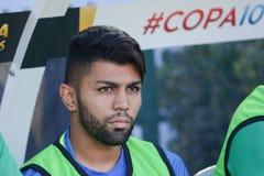 Brazylijska piłka nożna Gabriel podczas Copa Ameryka Centenario Fotografia Stock