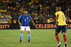 Brazylijska piłka nożna Gabriel podczas Copa Ameryka Centenario Zdjęcie Royalty Free