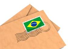 brazylijska poczta Zdjęcie Stock