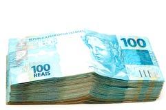 brazylijska waluta Obraz Royalty Free