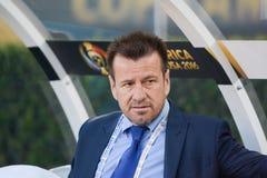 Brazylijski drużyna narodowa. trener Dunga podczas Copa Ameryka Centenar Zdjęcia Royalty Free