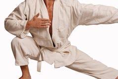 brazylijski gi odosobniony jitsu jiu Obrazy Stock