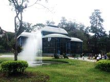 Brazylijski Krystaliczny pałac obraz stock