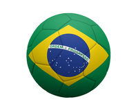 brazylijski piłkę Zdjęcie Stock