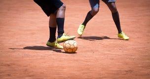 Brazylijski piłka nożna amator obrazy stock