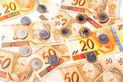 Brazylijski pieniądze Zdjęcie Royalty Free