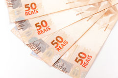 Brazylijski pieniądze Obraz Royalty Free
