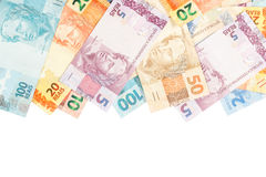 brazylijski pieniądze Zdjęcia Stock